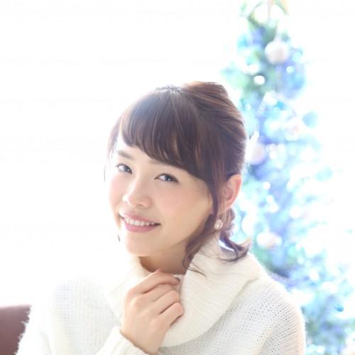 クリスマス・ハーフアップ